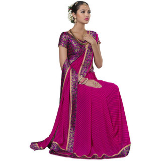 Lovely Look Pink Embroidered Saree LLKKRS1169-2
