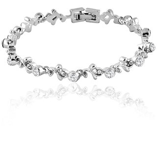 Mahi Silver Bracelet For Women