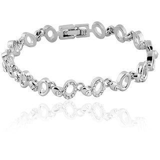 Mahi White Bracelet For Women