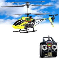 CROWN 3-ch Real Flying Rc Helicopter Gyro Remote Radio Control Chopper Drone