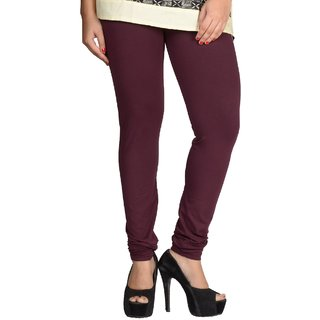 Shayan Tyrian Purple Leggins