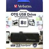 Verbatim 8GB Store'n'Go OTG USB 3.0 Pendrive 8 GB Pen Drive Store N Go