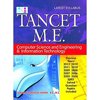 TANCET M.E. Computer Science and Engineering  Information Technology Exam Book
