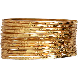 Ambitione Gold Plated Bangle