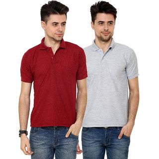 Grand Bear Pack of 2 Polo T-shirt For Men