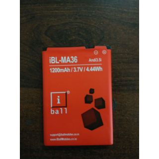 A Class Replacement Battery for iBall iBL MA 36 1200mAh