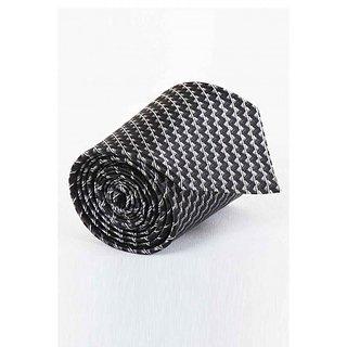 ST MARC Black Silk Striped Tie (SK52285631)