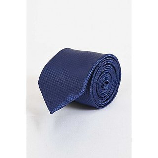 ST MARC Dark Blue Narrow Tie (NRPLN53480606)