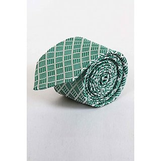 ST MARC Green Printed Narrow Tie (NRPRNT65490608)