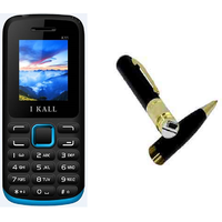 Combo Of K11 Multi Media Mobile Blue With Spy Pen Camera