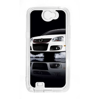 Anger Beast`s Designer Back Cover ( Transparent ) for Samsung Galaxy Note 2 SG_N2_388