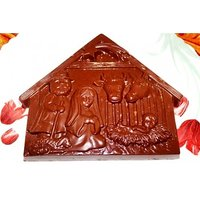 "Chocolate -THE BIRTH OF JESUS CHRIST ""NATIVITY OF JESUS"" Designer Chocolate Bar"
