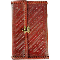 Sana's Leather Bound Journal - Bst Quality In Handmade Journal Or Handmade Diary