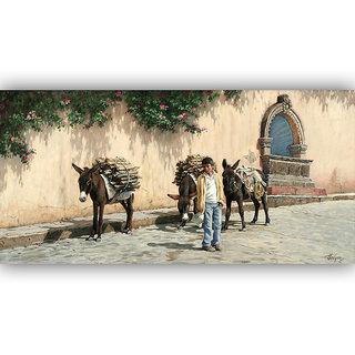 Vitalwalls Landscape Painting Canvas Art Print. Scenery-269-45cm