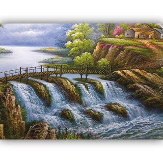 Vitalwalls Landscape Premium Canvas Art Print Scenary-110-60cm