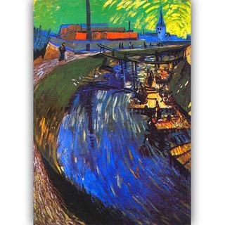 Vitalwalls Landscape Premium Canvas Art Print on Wooden Frame Scenary-122-F-30cm