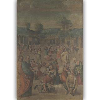 Vitalwalls Landscape Painting Canvas Art Print. Scenery-348-60cm