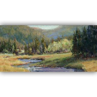 Vitalwalls Landscape Painting Canvas Art Printon Wooden Frame Scenery-349-F-30cm