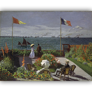 Vitalwalls Landscape Painting Canvas Art Printon Wooden Frame Scenery-361-F-45cm