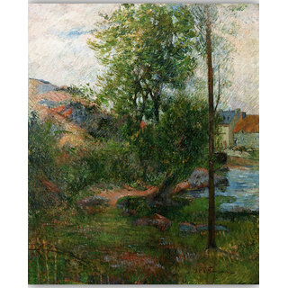 Vitalwalls Landscape Painting Canvas Art Print. Scenery-362-60cm