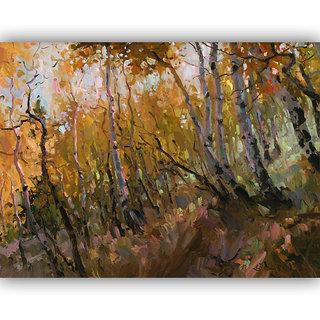 Vitalwalls Landscape Painting Canvas Art Printon Wooden Frame Scenery-363-F-30cm