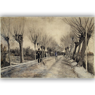 Vitalwalls Landscape Painting Canvas Art Print. Scenery-364-30cm