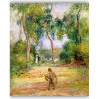 Vitalwalls Landscape Painting Canvas Art Print. Scenery-365-60cm
