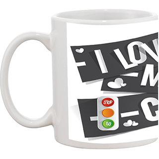 TIA Creation I Love My Car Gift Coffee Mug