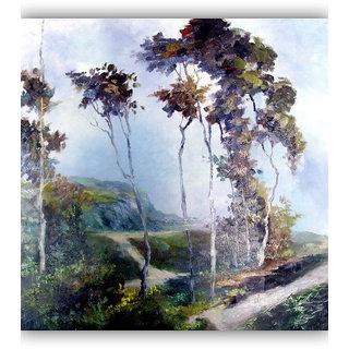 Vitalwalls Landscape Painting Canvas Art Print.Scenery-506-45cm