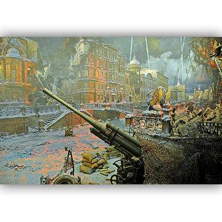Vitalwalls Landscape Painting Canvas Art Print.Scenery-509-45cm