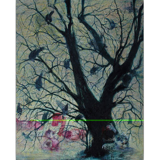 Vitalwalls Landscape Painting Canvas Art Printon Wooden Frame.Scenery-511-F-60cm