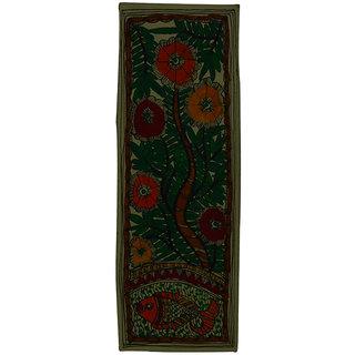 Craftuno Traditional Madhubani Painting Depicting Flora and Fauna