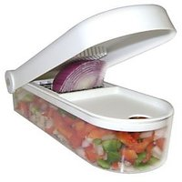 Vegetable & Fruit Cutter-Famous With Nova Blade Peeler Free Worth Rs.299/- Extra