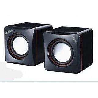 New-USB-2.0-Power-Computer-Desktop-Mini-Speaker-Black-&-BLue-For-MP3/PC-Laptop