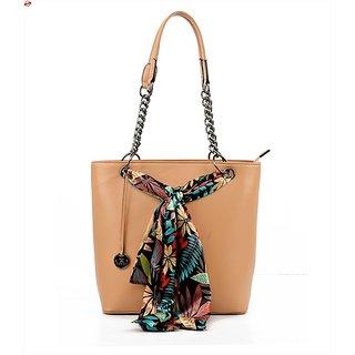 Diana Korr Beige Shoulder Bag DK26HAPR