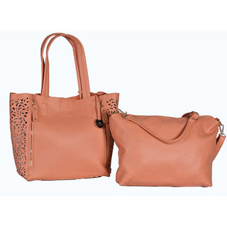 Diana Korr Peach Shoulder Bag DK09HPEA