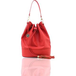 Diana Korr Red Shoulder Bag DK12HRED