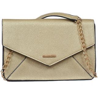 Diana Korr Gold Sling Bag DK54SGLD: Buy Diana Korr Gold Sling Bag ...