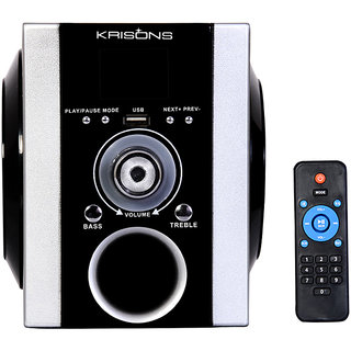KRISONS BLUETOOTH SPEAKER WITH FM, USB AND AUX