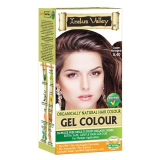 Indus Valley organically natural Gel colour Copper Mahogany