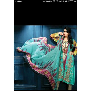 Ethnic Suits Semi Stitched