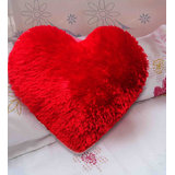 Velvet Heart Red Cushion Valentine Cushion(1 Piece Only)hrcn02