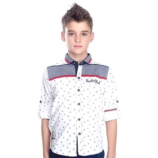 MashUp Printed Shirt For Boys.