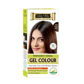 Indus Valley Organically Natural Gel Colour DARK BLONDE 6.00