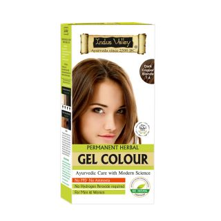 Indus Valley Organically Natural Gel Colour DARK COPPER BLONDE 7.4