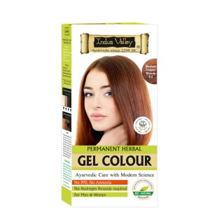 Indus Valley Organically Natural Gel Colour MEDIUM COPPER BLONDE 8.4
