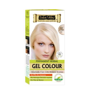 Indus Valley Organically Natural Gel Colour LIGHT BLONDE 8.00