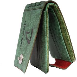 Sushito Green Fancy Wallet For Men JSMFHWT0498
