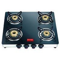 Prestige Marvel GTM 04 4 Burner Glass Top Gas Stove