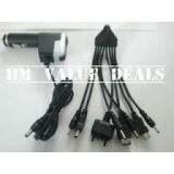 Titoni Universal Car Travel Multi Charger 9 In 1 For Nokia Samsung Sony Etc En